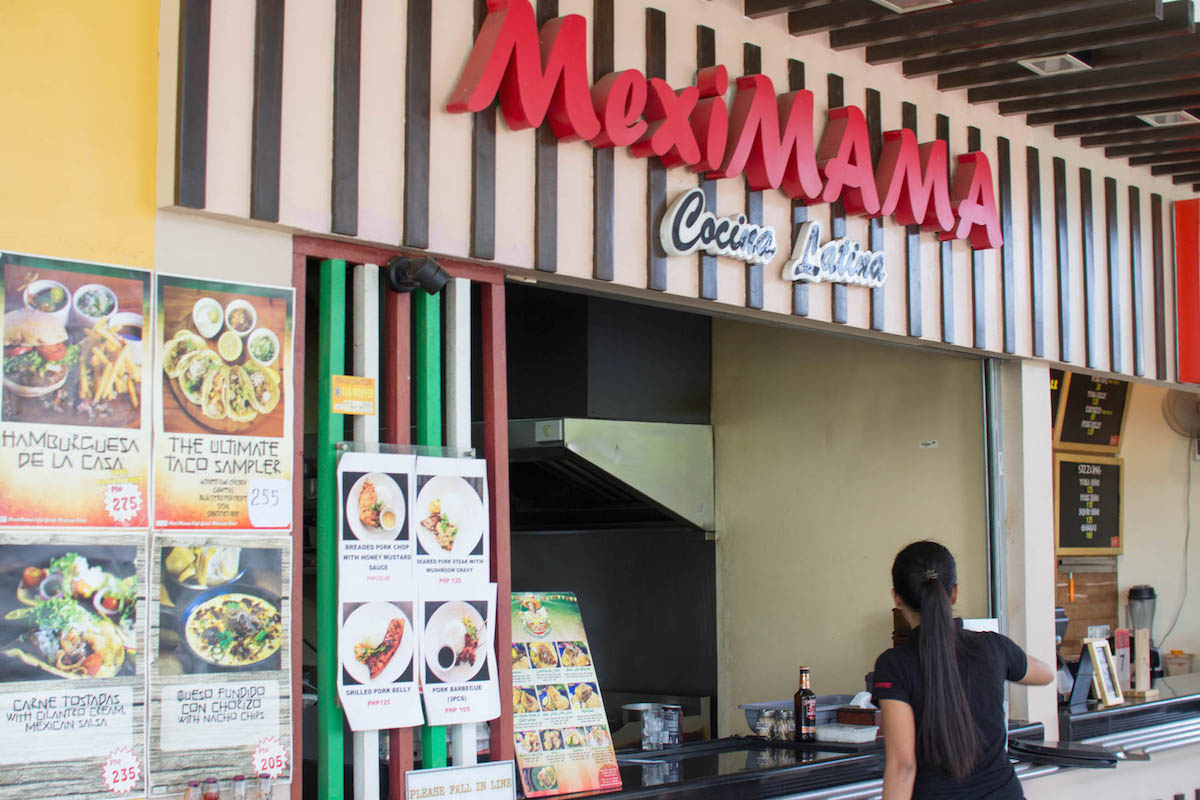 「MexiMAMA」、「Choobi Choobi」と「muvanz」の料理