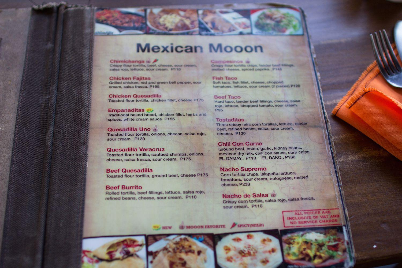 Mooon Cafeのメニュー3