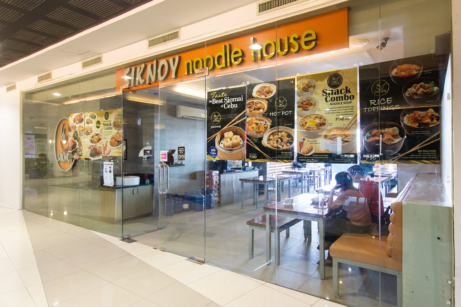 siknoy noodle house(イミグレーション前)の入り口