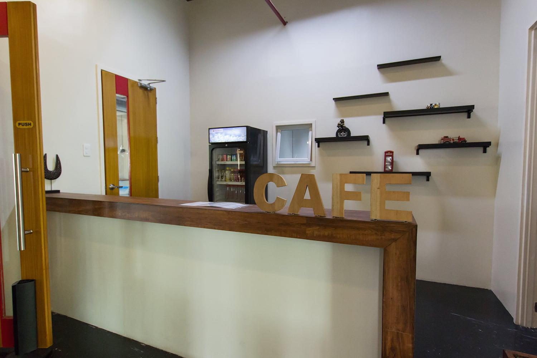 IDEA ACADEMIAのカフェ