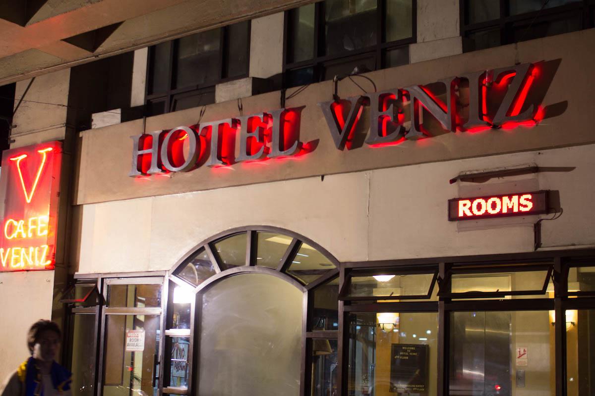 Café Venizの場所・行き方