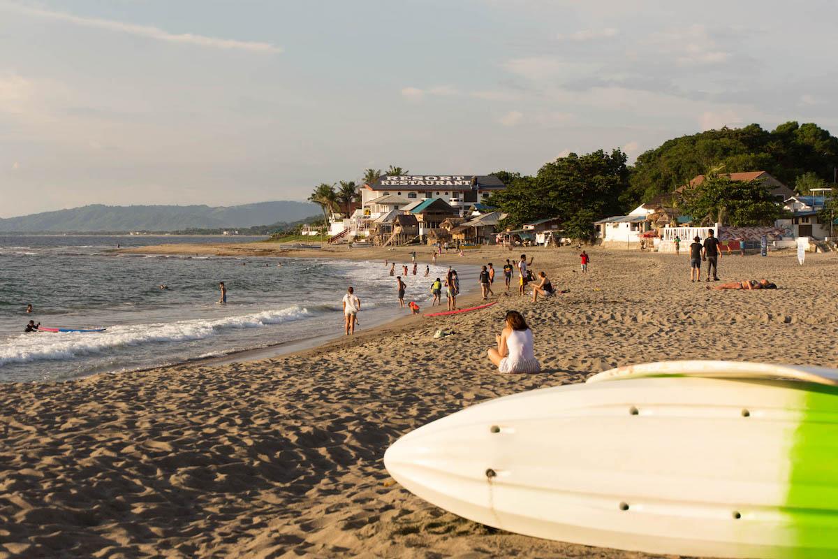 サンフアンのビーチ