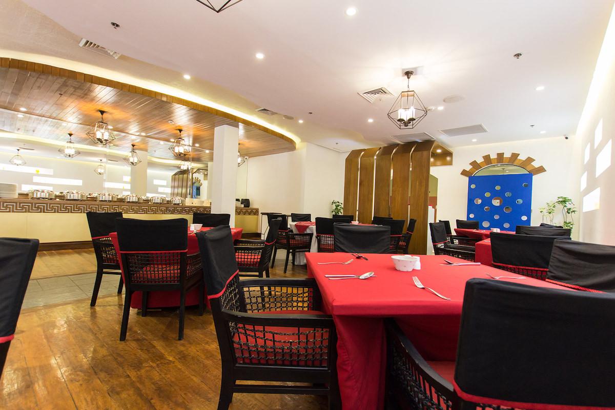 フィエスタカジノ併設のレストラン