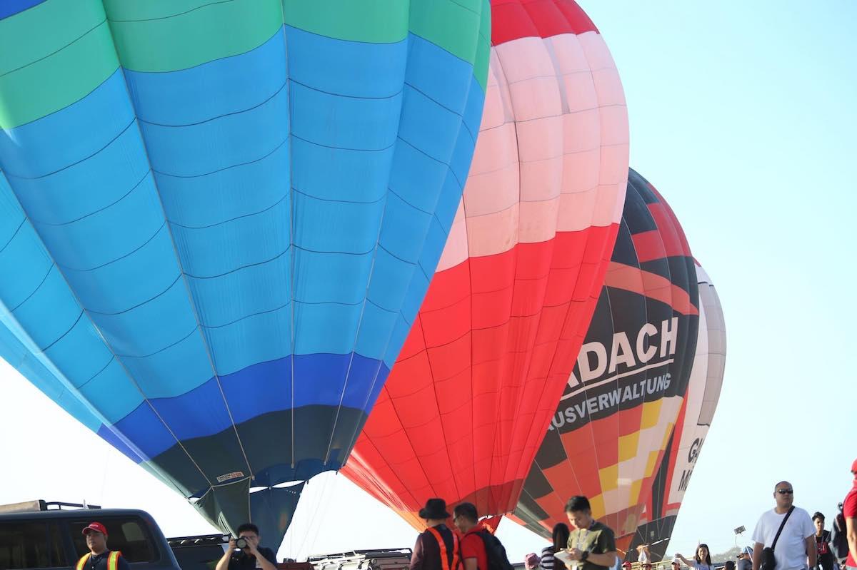 クラークでフィリピン国際熱気球祭に参加してきた!!