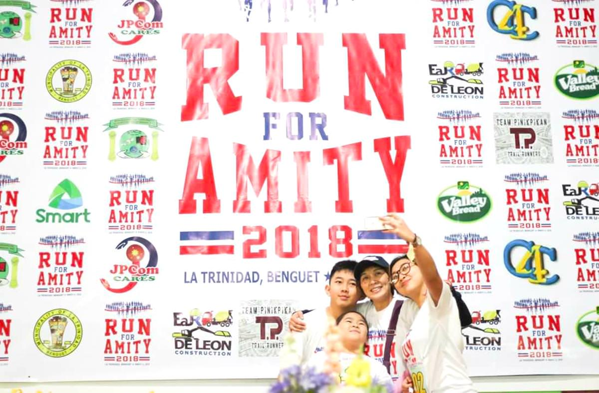 RUN FOR AMITY 2018 in La Trinidad