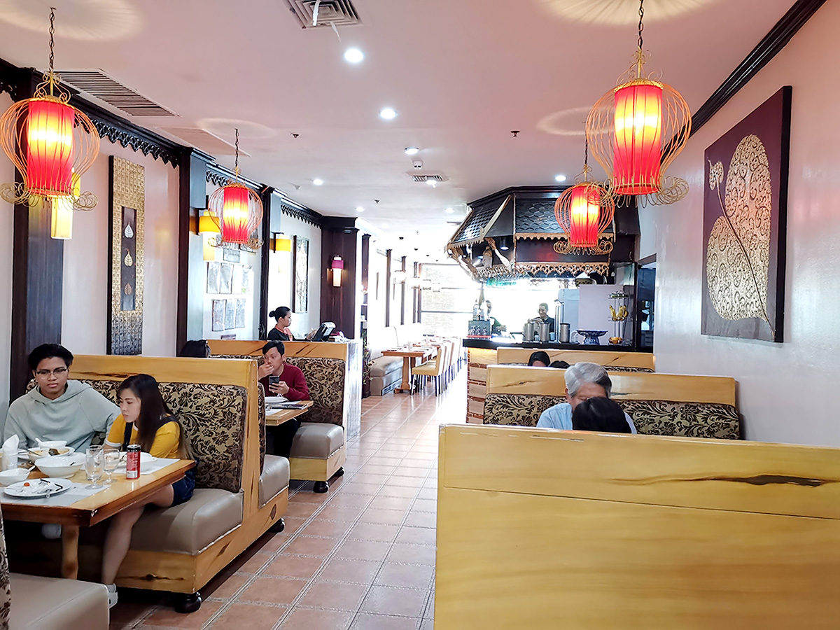 ROYAL KRUA THAIの店内