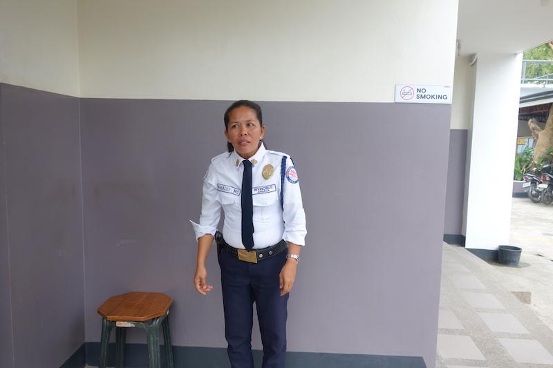 セブ島CPIのセキュリティー写真